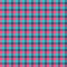 Gingham Seamless Cyan And Red ...