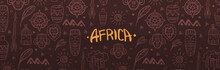 Hand Draw Doodles Of Africa Wo...