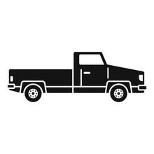 Pickup Icon. Simple Illustrati...