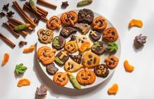 Halloween Gingerbread Cookies,...