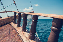 The Bow Of An Ancient Ship. Vi...