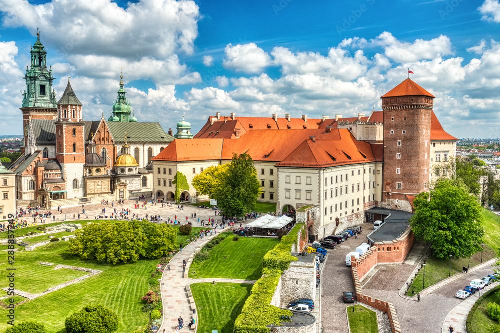 Fototapety, obrazy: Wawel Castle during the Day, Krakow