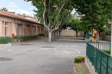 School Playground Preschool Bu...