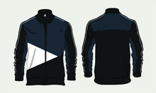 Varsity Sports Jacket Template...