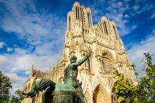 Frankreich Reims Kathedrale