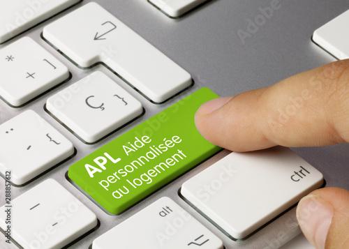 Photo APL Aide personnalisée au logement