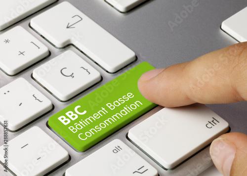 BBC Bâtiment basse consommation Canvas Print