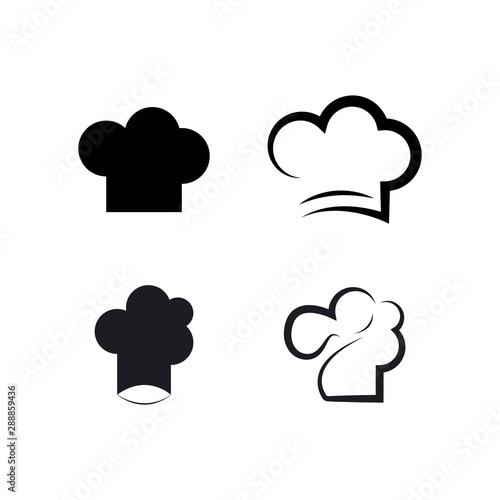 Photo hat chef logo