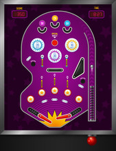 Violet Pinball Composition