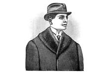 Representation Of Men's Fashion In The 1920s - Vintage Illustration