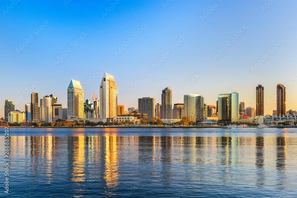 Fototapeta San Diego, California, USA Cityscape