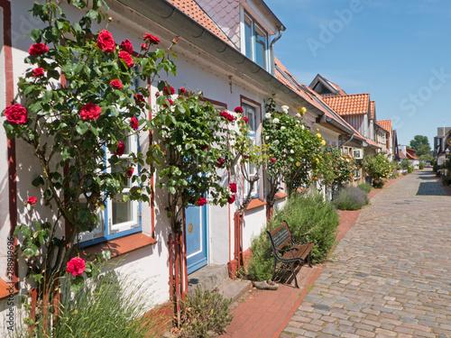 Photo  strassenbild in Holm in der Schleiregion ( Deutschland)