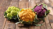 Different Sort Of Cauliflower ...