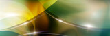 Fototapeta Abstract - Abstract panoramic background with luminous lines.