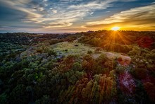 Sunset Texas Hill Country