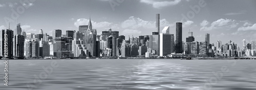 Cuadros en Lienzo  panoramic views of the New York City Manhattan
