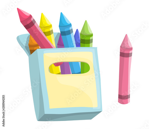 Fotografia Box of Crayons