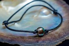 Black Pearl Surfer Bracelet On...