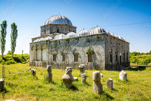 Lead Mosque also known as the Busatli Mehmet Pasha Mosque, is a historical mosqu Wallpaper Mural
