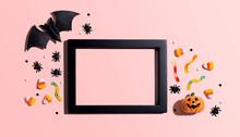 Halloween Theme Decoration Wit...