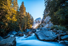 Vernal Falls Waterfall Of Yose...