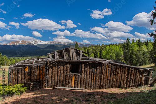 Tablou Canvas Old Cabin