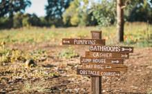 Pumpkin Patch Sign, Wooden Sig...