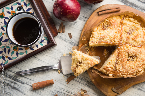 Photo Apple Cake