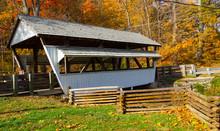 Rock Mill Covered Bridge In Au...
