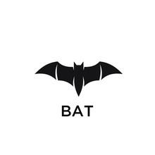Bat Logo Icon Designs Vector