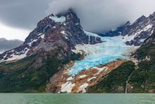 The Balmaceda Peak And Glacier...