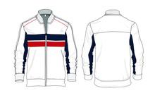Jacket Template Design Vector Sweater Windbreaker