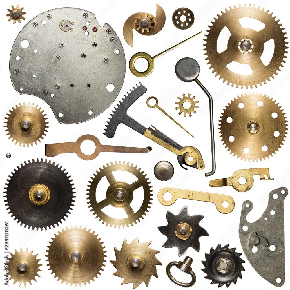 Fototapety, obrazy: Clockwork parts