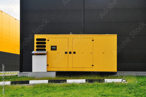 Canvastavla Mobile diesel generator for emergency electric power