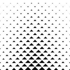 FototapetaAbstract monochrome geometric triangle pattern design background