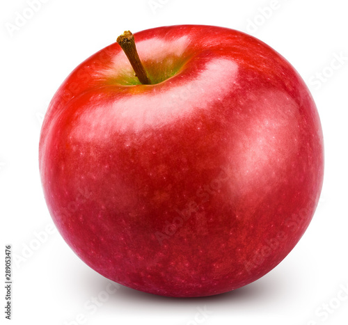 Fototapeta Jabłko  red-apple-isolated-on-white-apple-clipping-path-professional-studio-macro-shooting