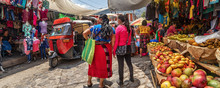 Market, Panajachel, Lake Atitlán, Guatemala