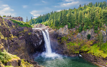 View Of Snoqualmie Falls, Near...