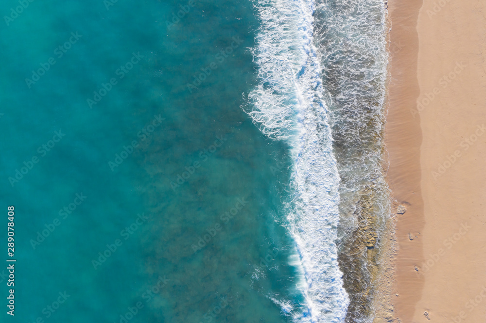 Fototapety, obrazy: Aerial photo of beach and ocean