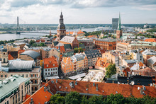 Riga Old Town Panoramic View F...