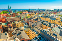 Panoramic View Of Helsinki On ...