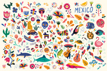 Mexican Decorative Vector Patt...