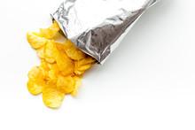 Bag Of Homemade Potato Chips F...