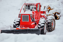 Details Of A Snow Removal Machine