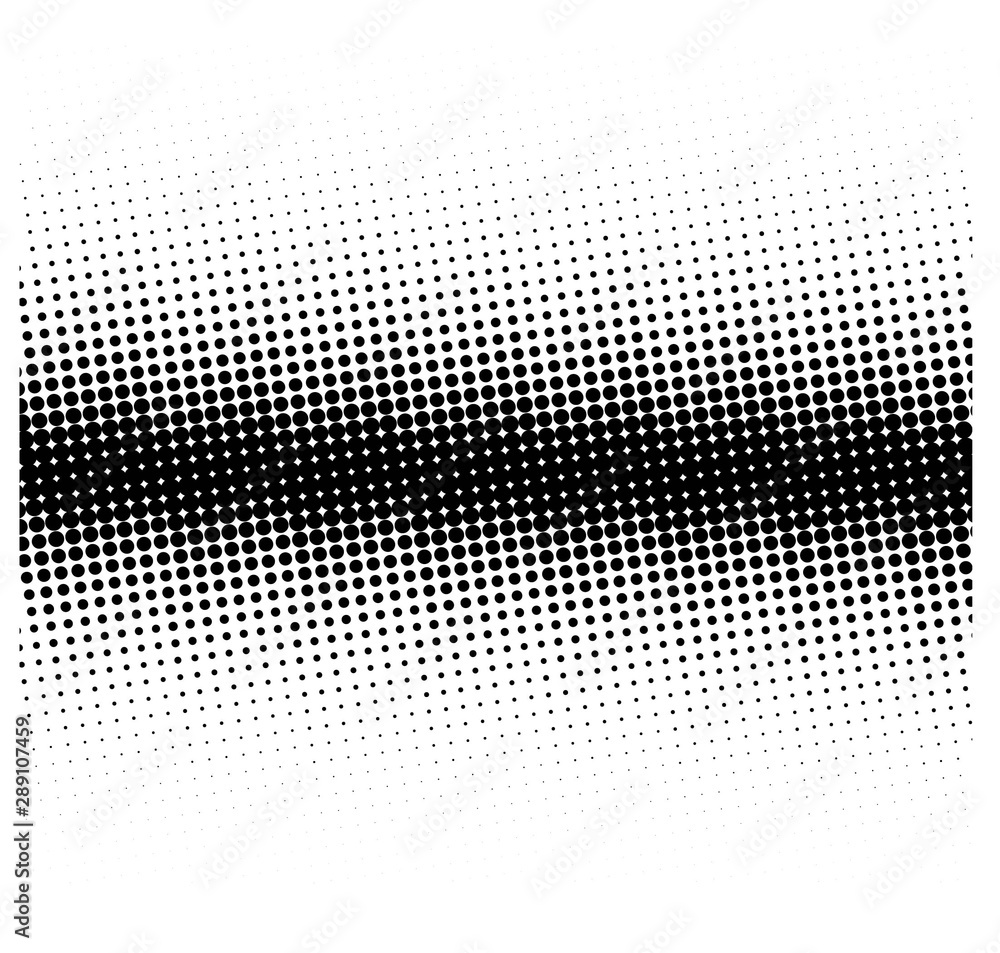 Fototapety, obrazy: Background with black dots and space for text