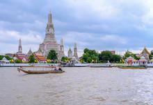 In Bangkok, The Wat Arun Is Ol...