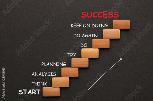 Fotografía  The Stairs to Success