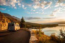 Women Enjoying Camper Van With...
