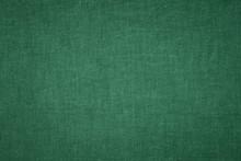 Dark Green Fabric Texture Background
