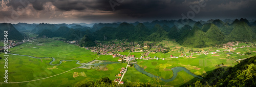Fotografie, Obraz  bac son valley in lang son province